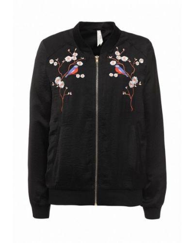 Куртка черная весенняя Stella Morgan