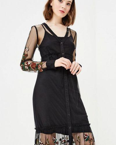 Платье осеннее прямое Gaudi