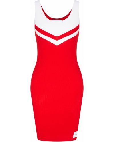 Платье мини облегающее с декольте Calvin Klein