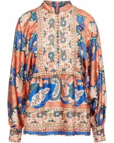 Satynowa bluzka Antik Batik