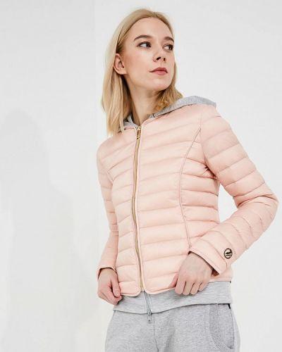 Розовые укороченные джинсы Trussardi Jeans