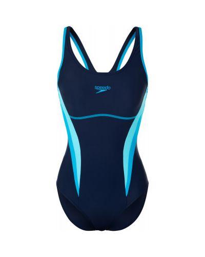 Спортивный купальник для бассейна синий Speedo