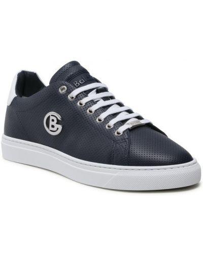 Sneakersy granatowe Baldinini