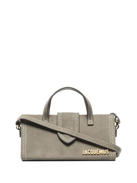 Желтая кожаная сумка на плечо Jacquemus