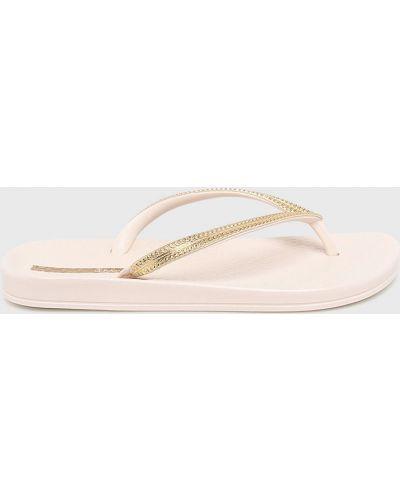 Бежевые сандалии Ipanema