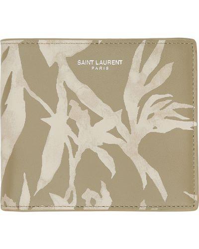 Portfel skórzany - czarny Saint Laurent