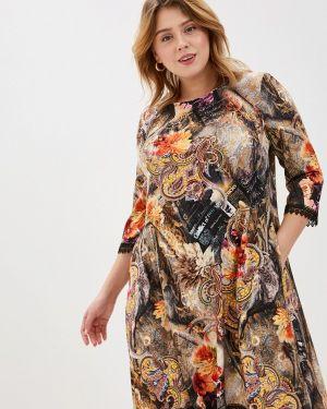 Повседневное платье осеннее Kontaly