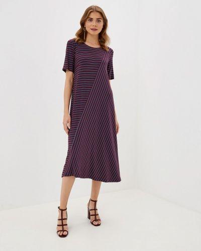 Платье бордовый прямое Helmidge