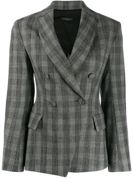 Удлиненный пиджак с карманами Antonelli