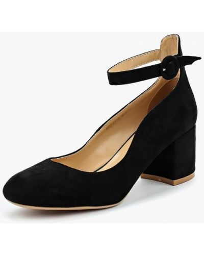 Туфли на каблуке замшевые Inario