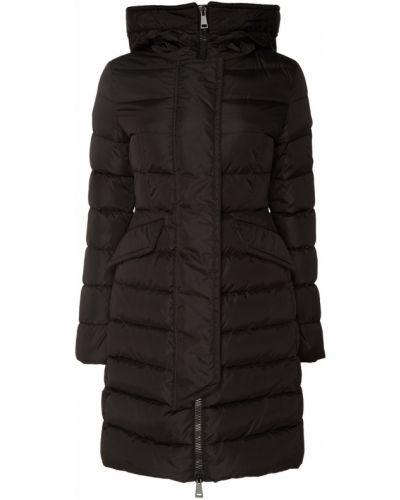 Утепленная куртка черная стеганая Moncler