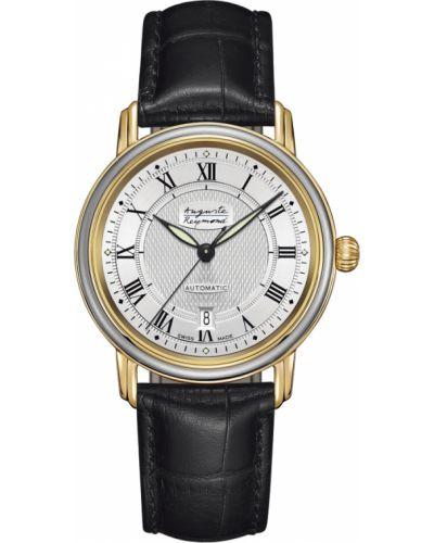 Часы механические с кожаным ремешком швейцарские Auguste Reymond