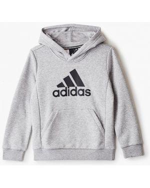 Свитшот серый Adidas