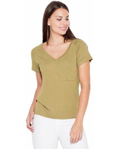 Zielona bluzka z wiskozy Katrus
