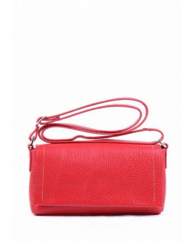 Красная кожаный сумка медведково
