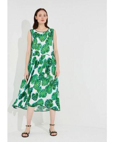 Зеленое платье весеннее Ice Play