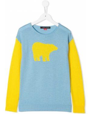 Prążkowany żółty sweter Perfect Moment Kids