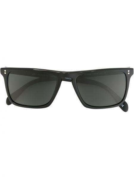 Солнцезащитные очки черные зеленый Oliver Peoples