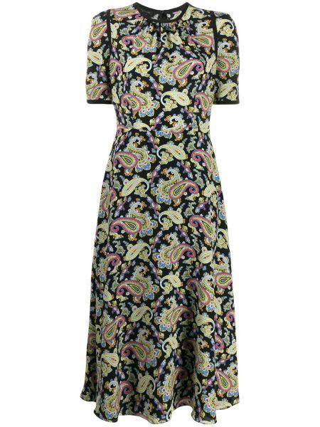Платье мини миди на молнии Escada