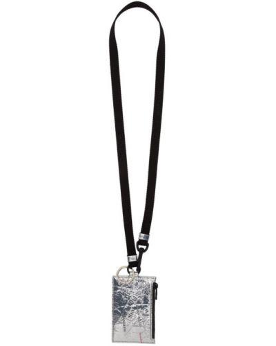 Etui na klucze skórzany z zamkiem błyskawicznym Alexander Mcqueen
