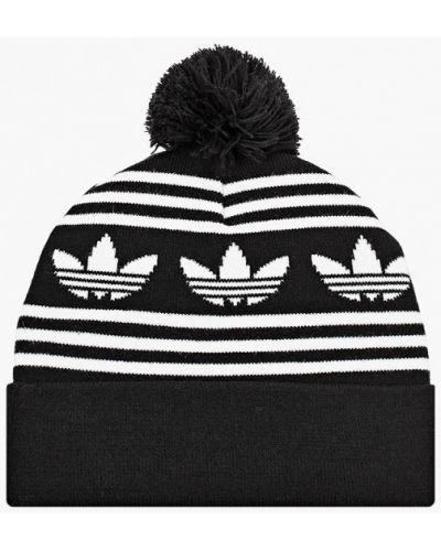 Черная шапка Adidas Originals