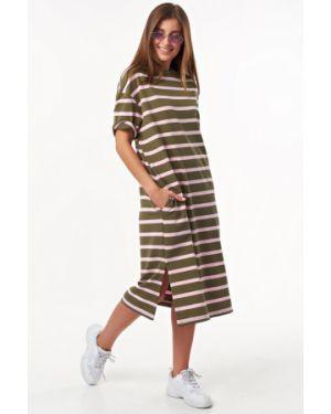 Платье платье-сарафан из футера Fly