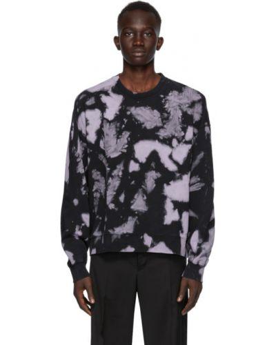 Черный длинный свитер с воротником с длинными рукавами Cmmn Swdn