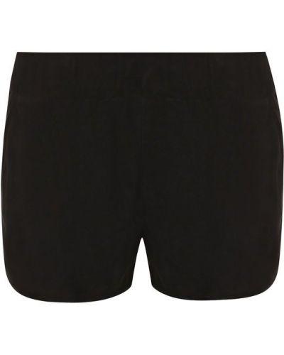 Короткие шорты бархатные с карманами Drome