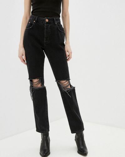 Прямые черные джинсы One Teaspoon