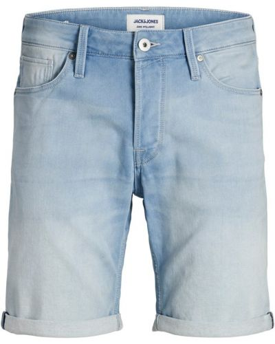 Niebieskie bermudy jeansowe Jack & Jones