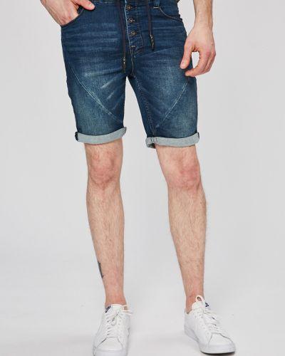 Джинсовые шорты прямые на резинке Sublevel