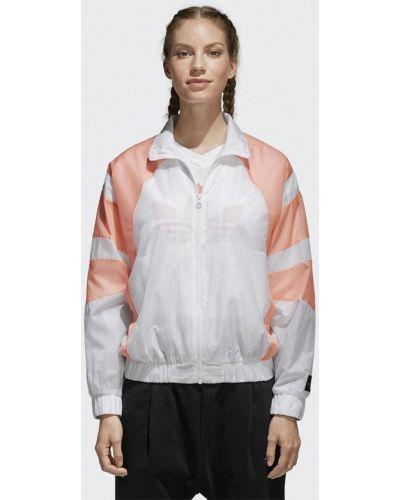 Белая ветровка Adidas Originals