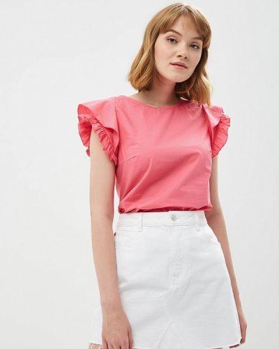 Розовая блузка с рюшами Zarina