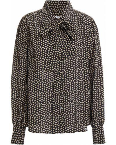 Шелковая блузка - черная Re/done