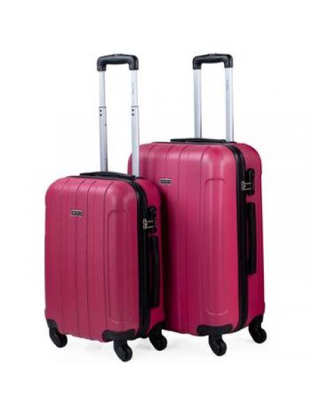 Różowy walizka Itaca