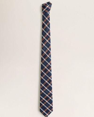 Krawat z wzorem wełniany Mango Man