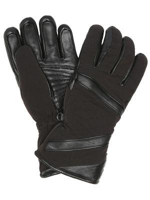 Перчатки длинные кожаные с шерстяной подкладкой Toni Sailer