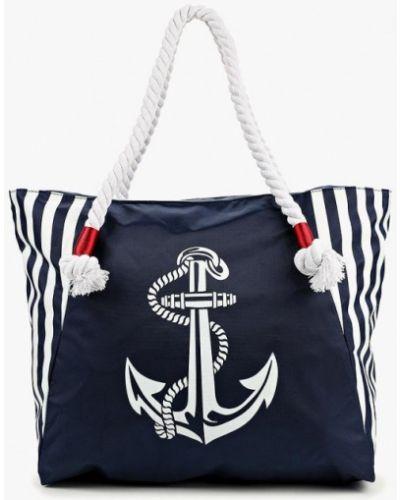 Синяя пляжная сумка Antan