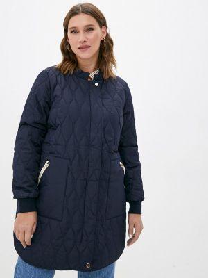 Утепленная куртка - синяя Zizzi