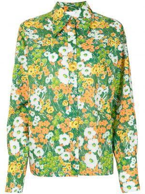 Рубашка с длинным рукавом - зеленая Alice Mccall