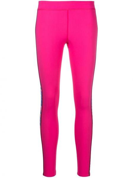 Różowy legginsy Off-white