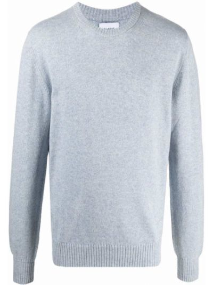 Niebieski z kaszmiru sweter Barrie