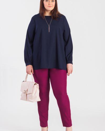 Блузка блузка-трапеция классическая Lacy_plus