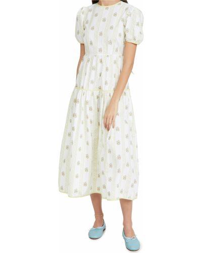 Текстильное платье с поясом Glamorous