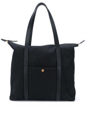 Черная нейлоновая сумка-тоут Mismo