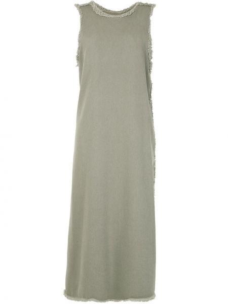 Платье с бахромой - зеленое G.v.g.v.