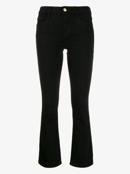 Укороченные джинсы - черные Frame