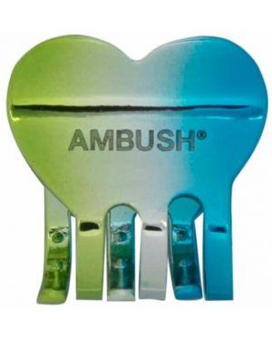 Spinka do włosów ze srebra zielony Ambush