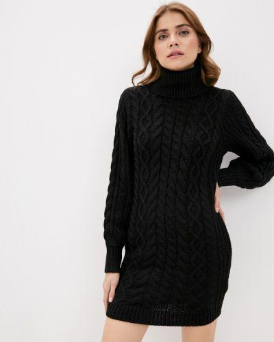 Черное вязаное платье Brave Soul