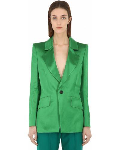 Зеленая куртка с карманами с манжетами Vivienne Westwood